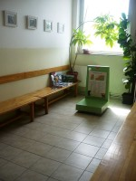 Veterinary clinic Červený vrch - waiting room