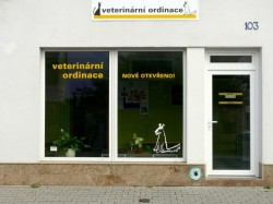 Veterinary clinic Hostivice, Praha-západ - Entrance from the street