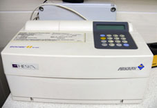 Veterinary biochemic analyzer